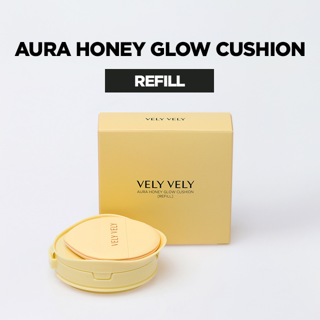VELY VELY Aura Honey Glow Cushion Refill