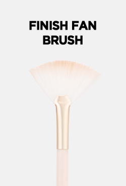 VELY VELY Finish Fan Brush