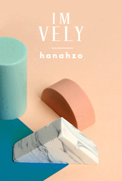 [IMVELY X HANAHZO] Geometric Block Soap